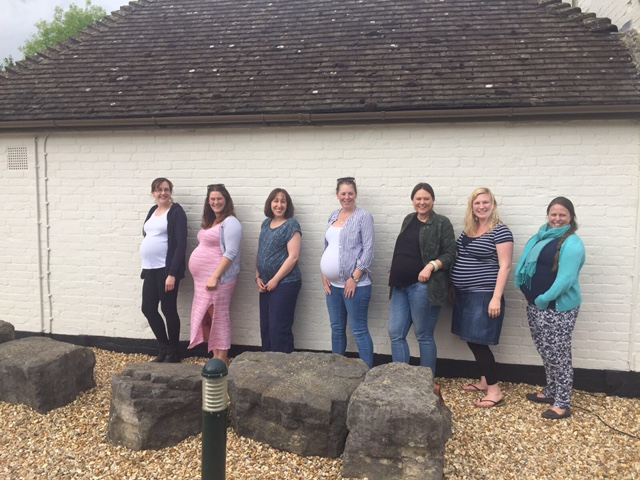 My Support Network: The Antenatal Class Family