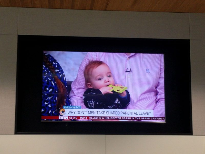 Shared Parental Leave | Did you see us on the TV?